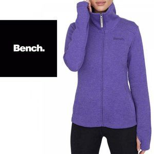 Bench Full-Zip Mock Neck French Terry Jacket - Large